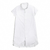 Coach :: COTTON POPLIN CROPPED SLEEVE SHIRT DRESS