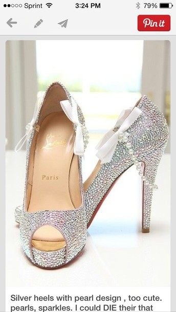 shoes, silver shoes, sparkly shoes