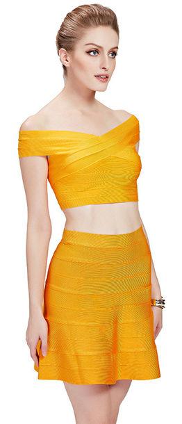 Dress: dream it wear it, clothes, yellow, yellow dress, yellow ...