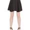 Embellished pleated crepe skirt