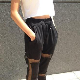 pants pant pantalon jeans black black pants
