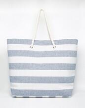 bag,beach,beach bag,stripes,white beach bag,tote bag