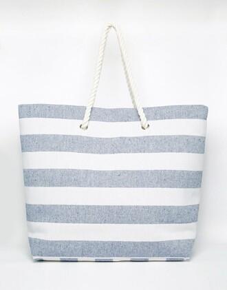 bag beach beach bag stripes white beach bag