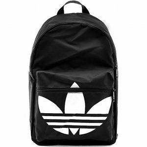 9c146f944beb ADIDAS BACKPACK CLASSIC TREFOIL Black-White daypack college ...