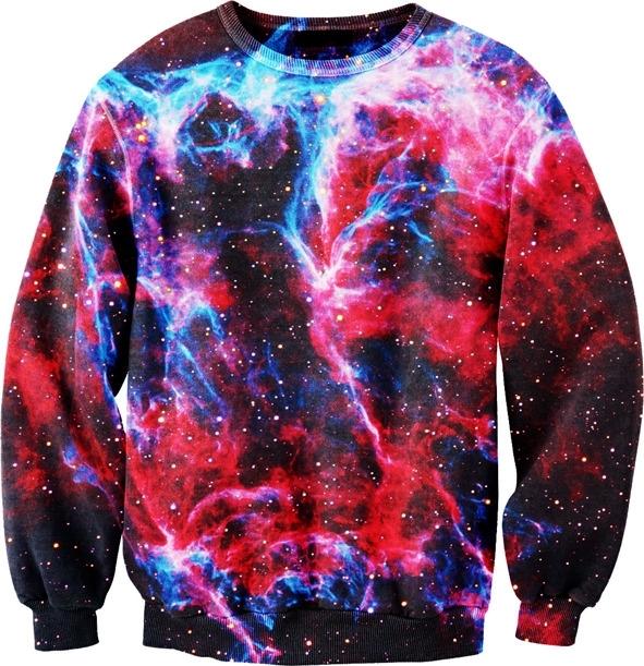 Galaxy sweater / paradyme clothing