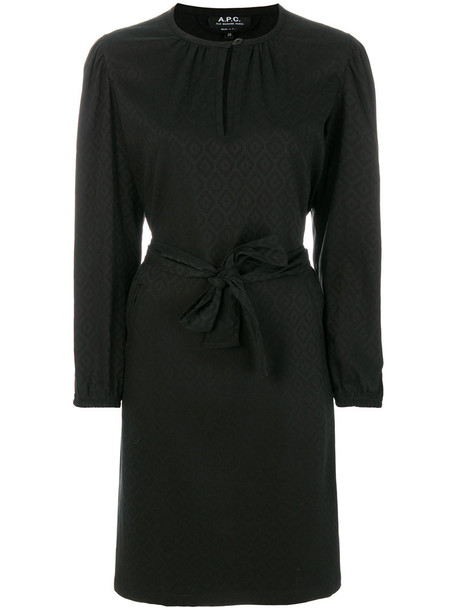 dress shirt dress women black
