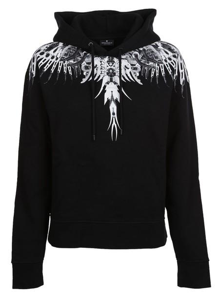Marcelo Burlon hoodie print black sweater