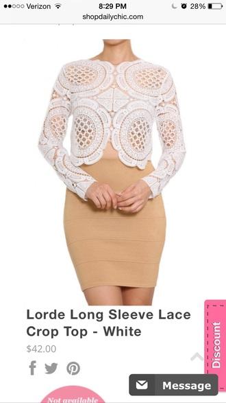 blouse white lace top