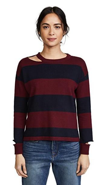 LnA sweater cherry black