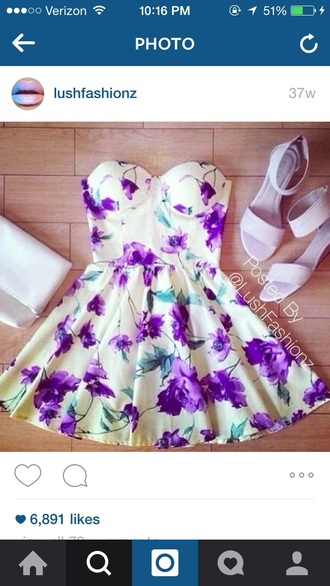 dress white dress floral dress summer dress sleeveless dress