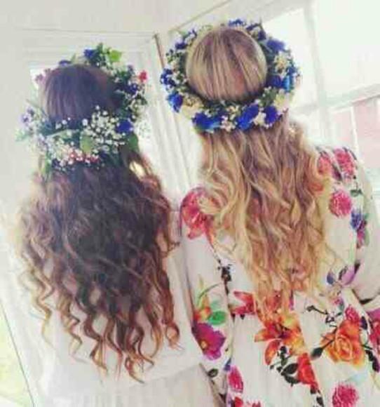 floral hair accessories floral romper jumpsuit white playsuit romper