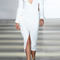 Tailored slit front dress by wes gordon - moda operandi