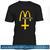 McSatan Funny Fast Food Satan Parody Tshirt