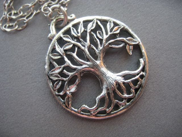 Tree of life necklace tree of life jewelry tree for What is the meaning of the tree of life jewelry