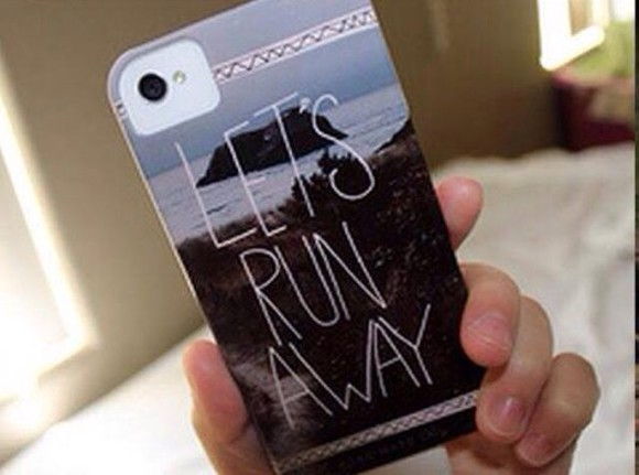 case phone phone case lets run away lets run away