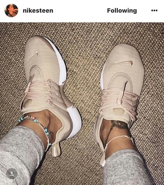 shoes nike prestos tan shoes tan nike shoes