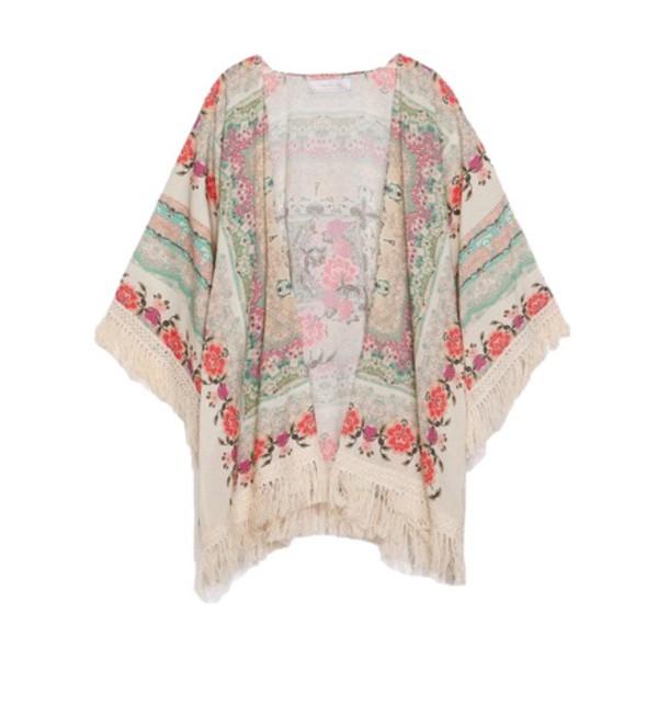 cardigan kimono colorfull
