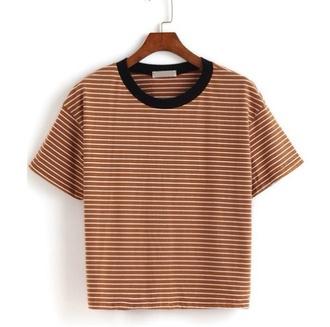 shirt yellowshirt stripes yellow black