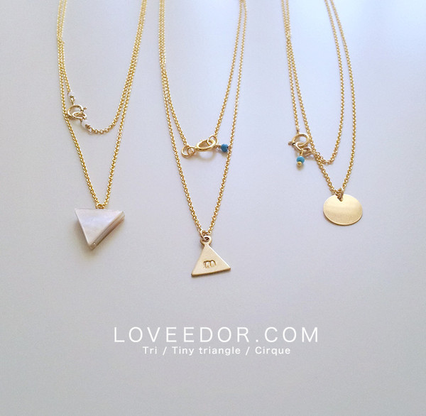 necklace rose gold star boutique necklaces en lucky happiness delicate