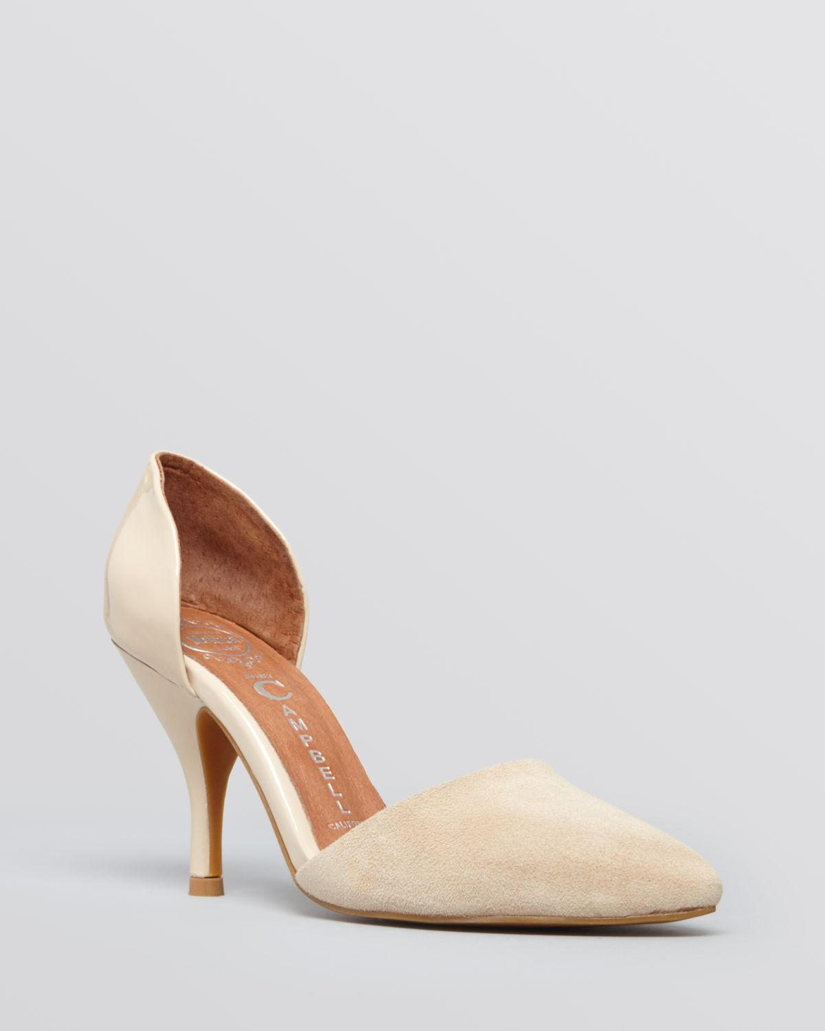 Jeffrey Campbell Pointed Toe D'Orsay Pumps - Callista High Heel | Bloomingdale's