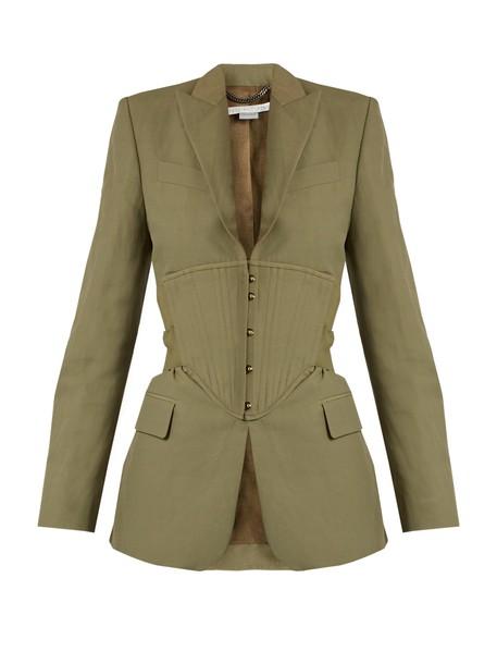 Stella McCartney jacket khaki