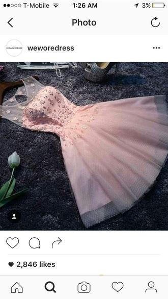 dress pink pink dress flowers lace lace dress cute cute dress
