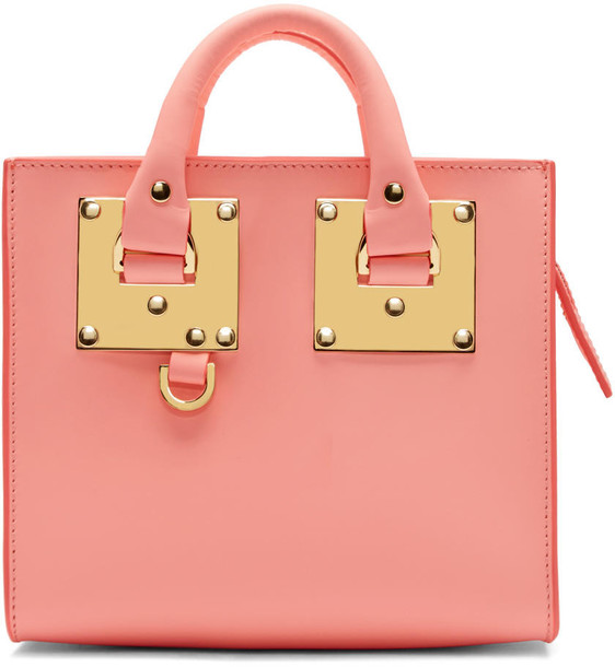 Sophie Hulme mini pink bag