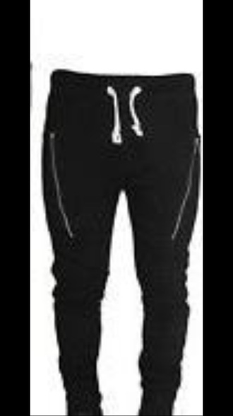 style sweat pants athletic bottoms pants black black and white