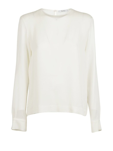 blouse classic white top