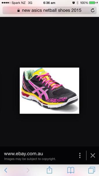 shoes netball shoes asics