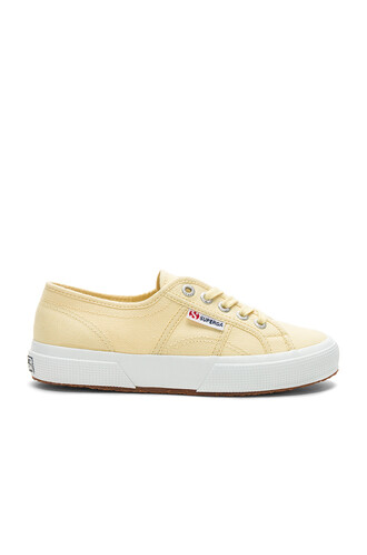 classic yellow shoes
