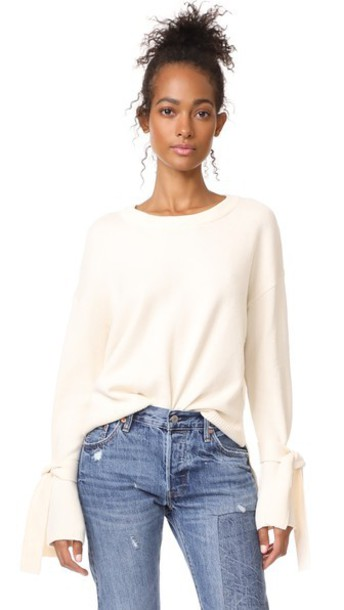 Madewell pullover cream sweater