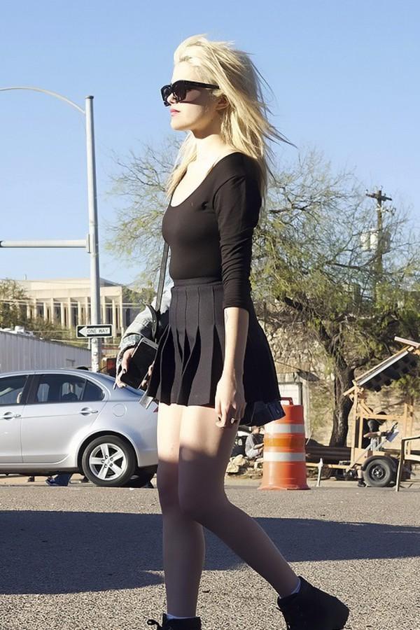 skirt sky ferreira grunge outfit