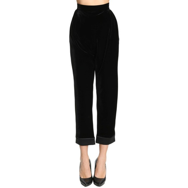 GIORGIO ARMANI pants women black