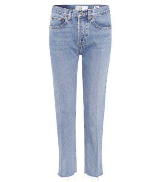 Re/Done jeans high blue