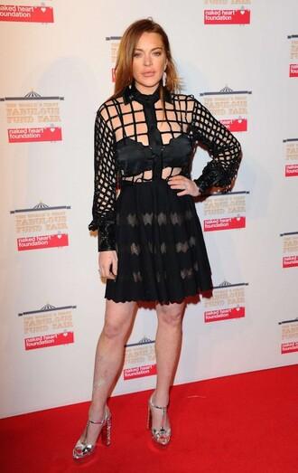 blouse skirt lindsay lohan