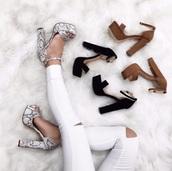 shoes,heels,high heel sandals,snake print
