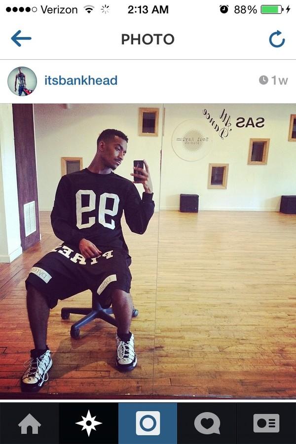 shorts black sean bankhead