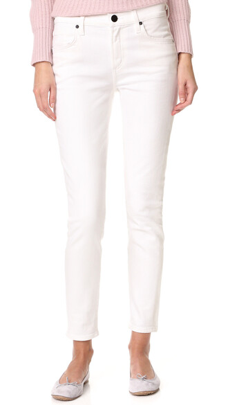 jeans skinny jeans lace