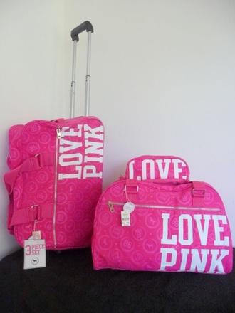 bag pink pink by victorias secret suitcase