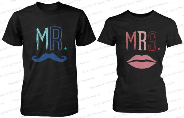 mr and mrs mr. mr. mustache mrs. lips mustache shirts matching couples mr and mrs shirts his and hers shirts matching shirts for couples matching couples matching shirts his and hers gifts newlyweds gift mrs shirt mr shirts mrs. shirt