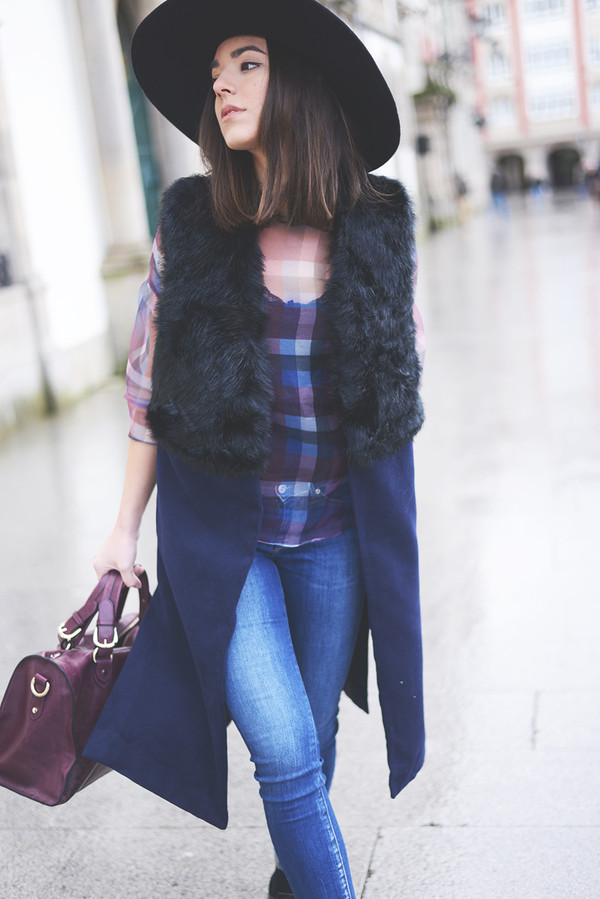 the fashion through my eyes shirt jacket jeans hat shoes bag