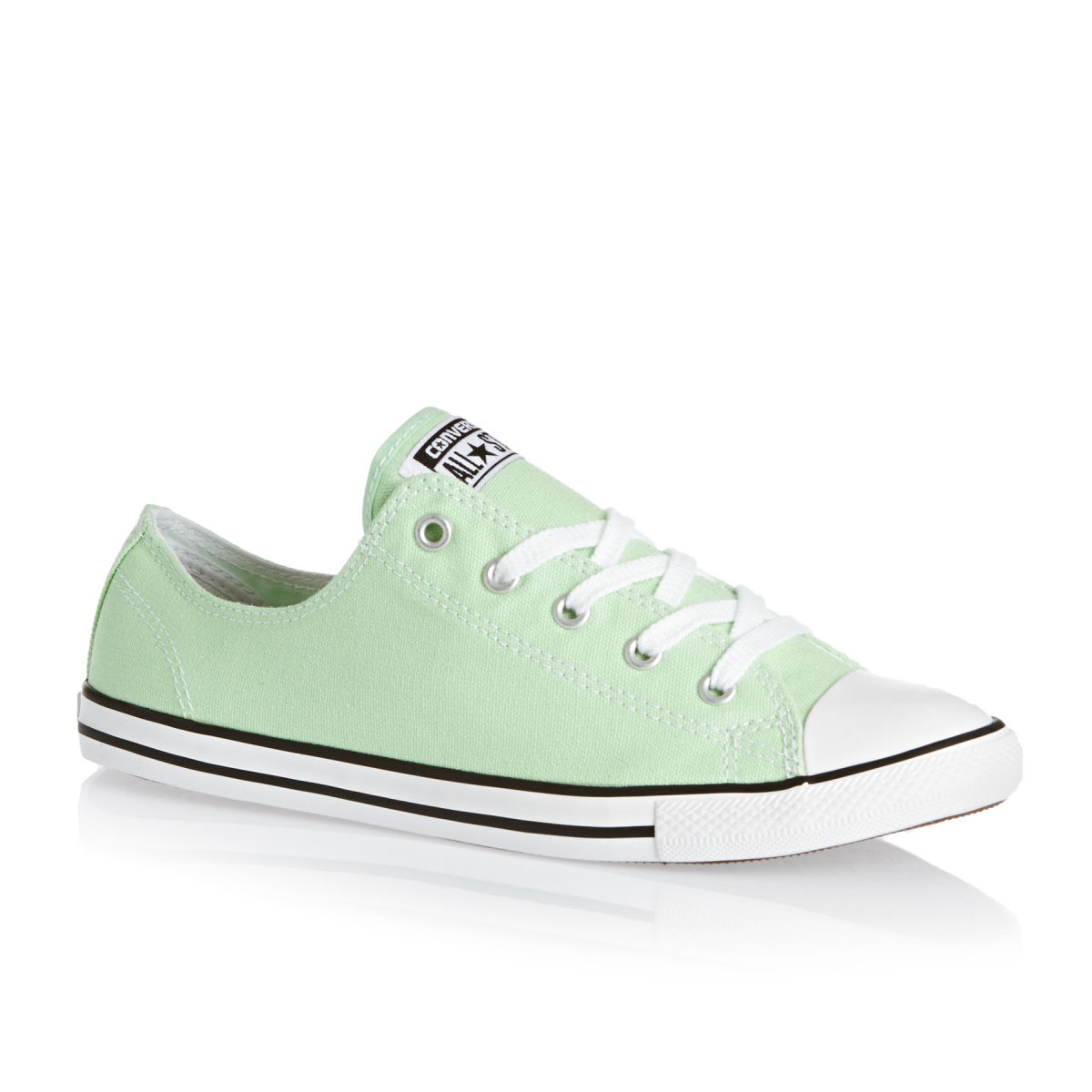 6aa950d95316 Converse Chuck Taylor All Star Dainty Shoes - Mint Julep white black