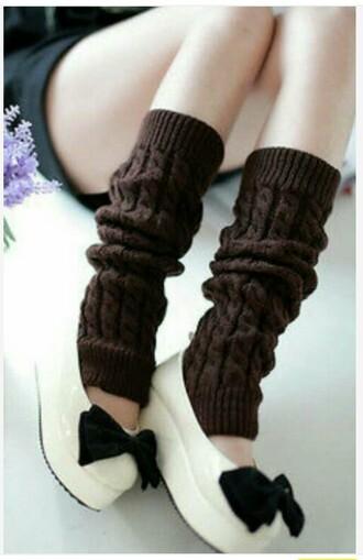 shoes white black bow wedges flats flat wedges shiny pleather glossy socks leg warmers