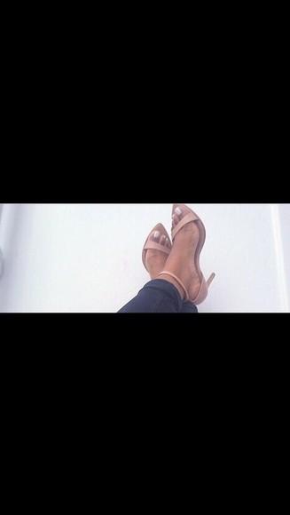 shoes beige heels