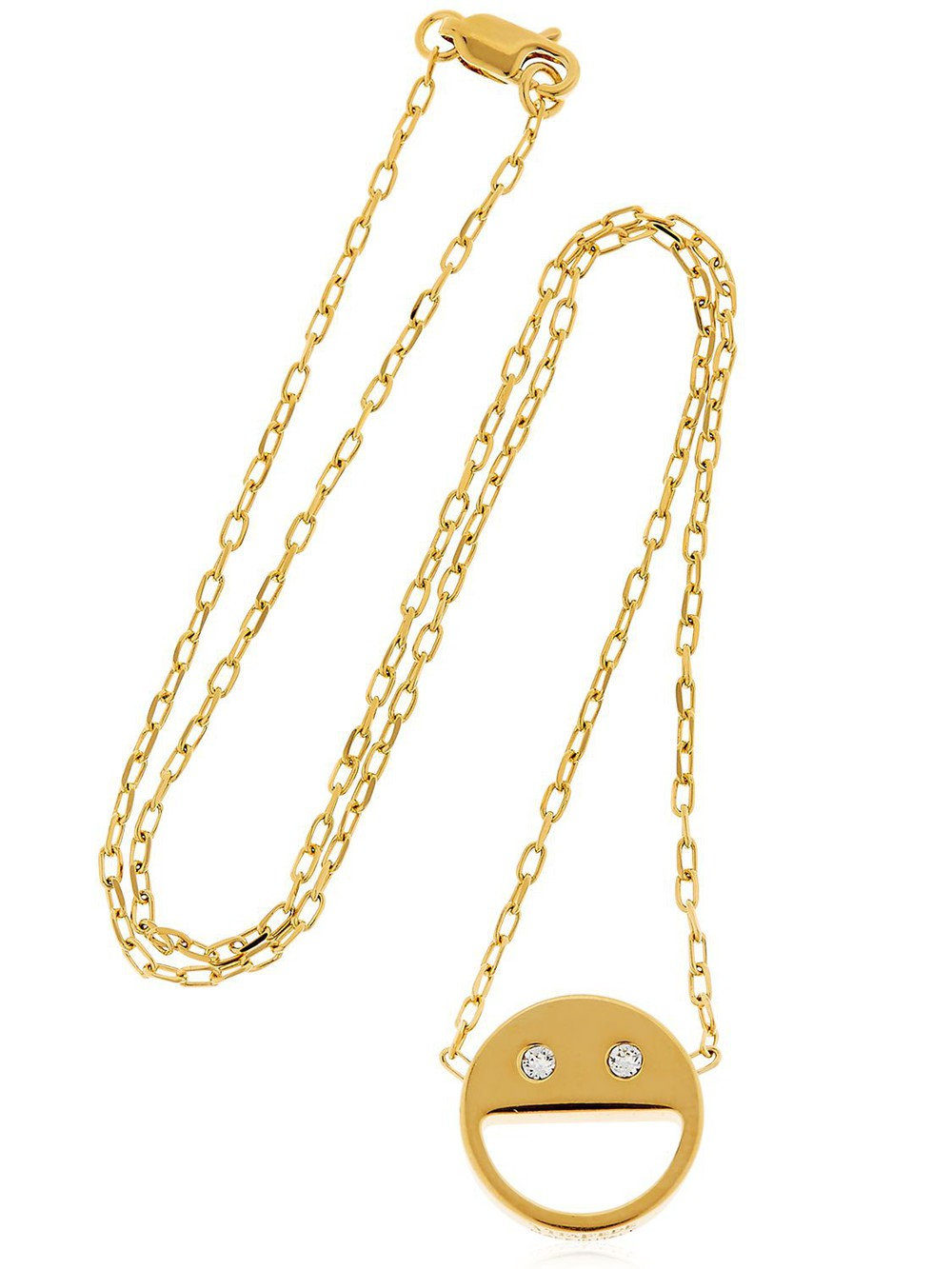 VITA FEDE Sorriso Chain Necklace in gold