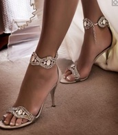 shoes,jewell,rhinestones,crystal ankle strap,high heel sandals,wedding,evening outfits,gold,bling,diamonte,jewelled,prom