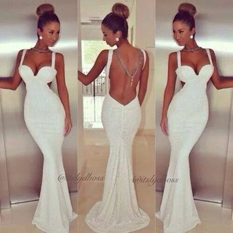 dress white dress wedding dress gorgeous cut-out