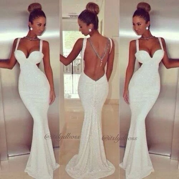 The Jessica Rabbit of wedding dresses