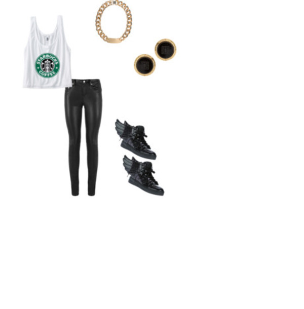 shoes adidas jeremy scott starbucks coffee gold black jewels